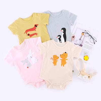 Baby Bodysuit Animal Brothers n Sisters - 1006 - Little Kooma