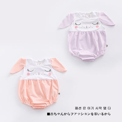 Baby Girl Bunny Rabbit Bodysuit - 0902 - Little Kooma