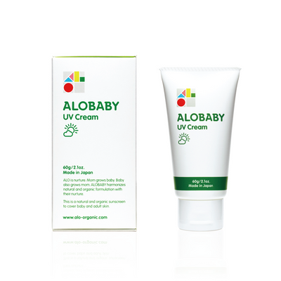 ALOBABY UV Cream - Organic Sunscreen Cream - Little Kooma