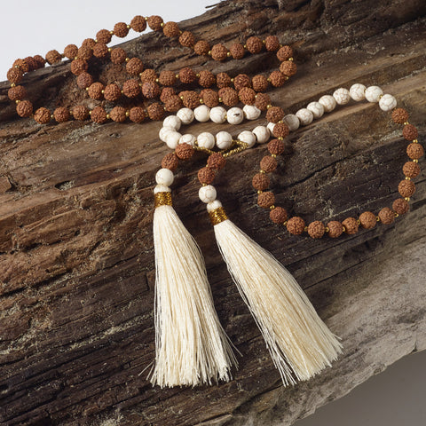 Aatvarang Double Tassel Necklace