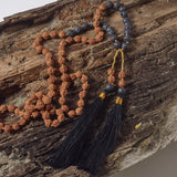 Energy Double Tassel Necklace