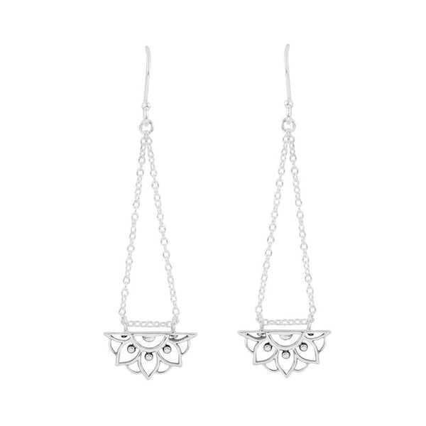 Mandala Love Drop Earrings