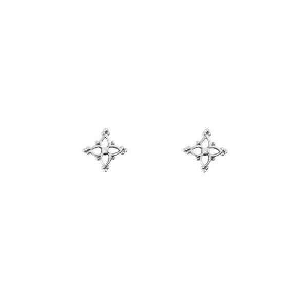Dainty Moroccan Star Stud Earrings