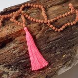 Passion Tassel Necklace