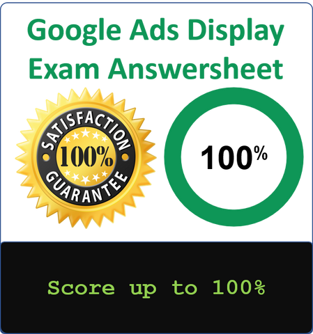 Google Display Advertising Exam Guide