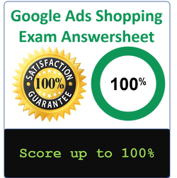 Google Shopping Advertising Exam Guide