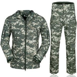 Survival Gears Depot ACU / S Outdoor Waterproof Tactical/Hunting Jacket Plus Matching Pants