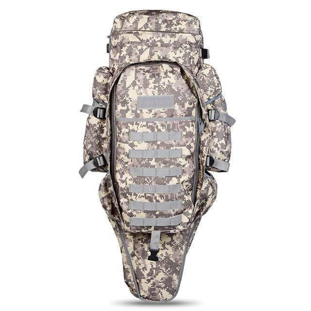Survival Gears Depot Backpacks ACU Tactical Assault Rifle Backpack/ Military Carry /Roll-Pack Gun Storage