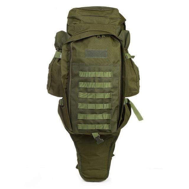 Survival Gears Depot Backpacks Army Green Tactical Assault Rifle Backpack/ Military Carry /Roll-Pack Gun Storage