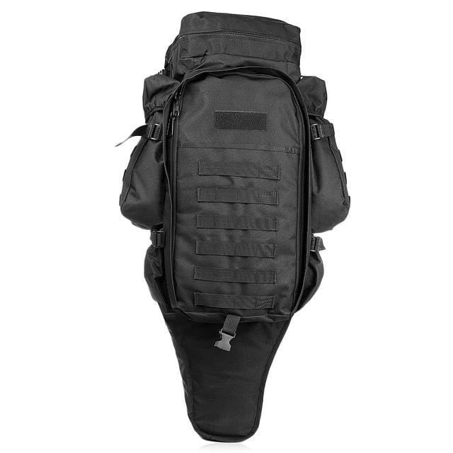 Survival Gears Depot Backpacks Black Tactical Assault Rifle Backpack/ Military Carry /Roll-Pack Gun Storage
