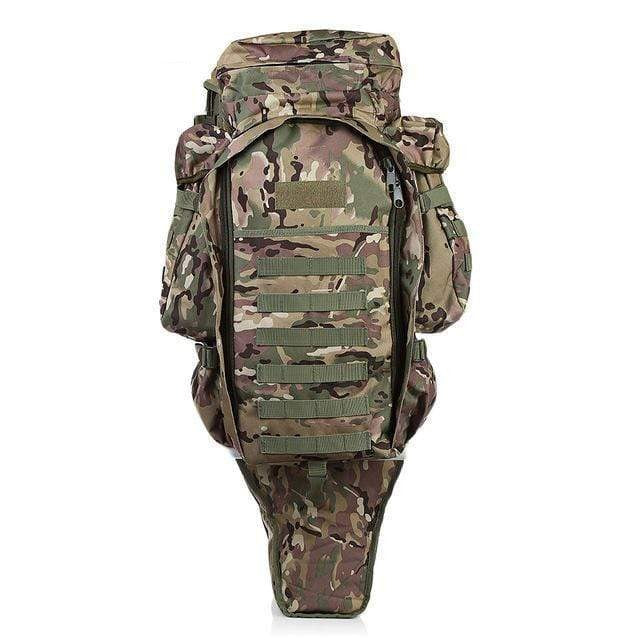 Survival Gears Depot Backpacks Jungle Camouflage Tactical Assault Rifle Backpack/ Military Carry /Roll-Pack Gun Storage