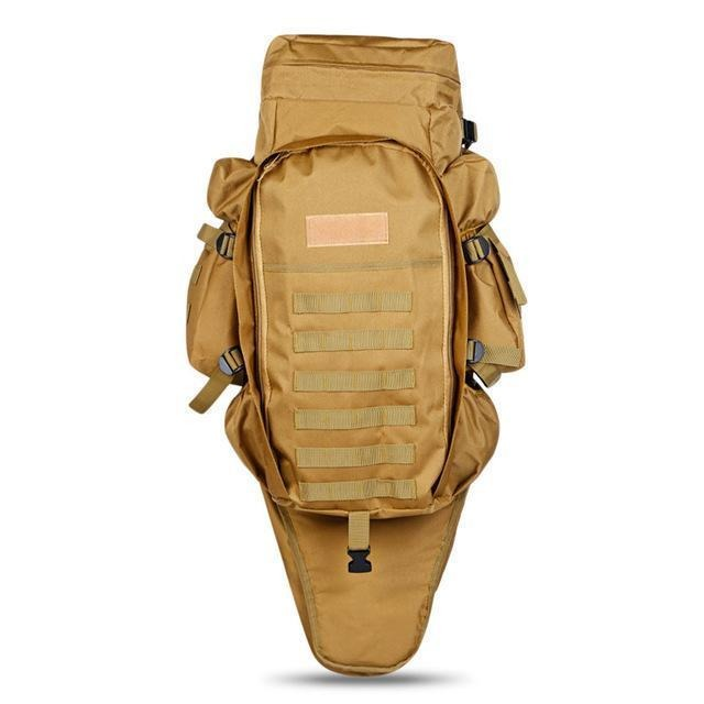 Survival Gears Depot Backpacks Khaki Tactical Assault Rifle Backpack/ Military Carry /Roll-Pack Gun Storage