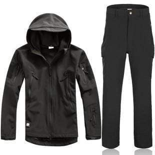 Survival Gears Depot Black / S Outdoor Waterproof Tactical/Hunting Jacket Plus Matching Pants