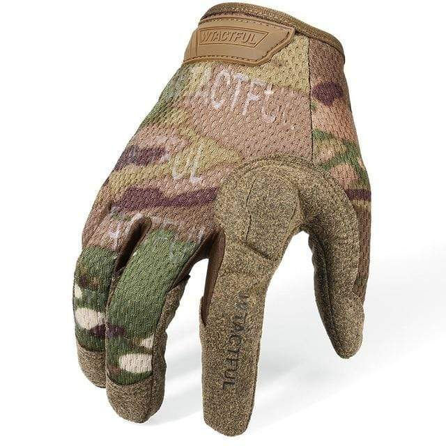 Survival Gears Depot Hiking Gloves CP / S Full Finger Military Army Tactical Gloves