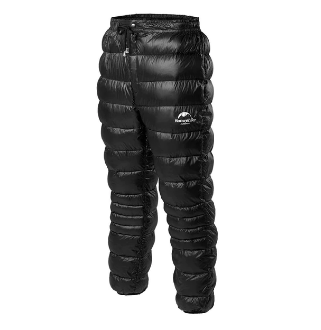 Survival Gears Depot Hiking Pants Black / XS Mountaineering Goose Down Pants