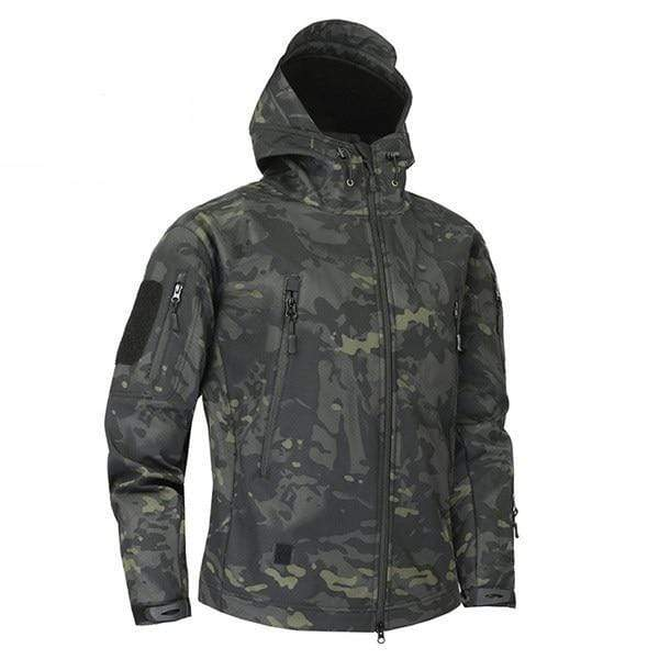 Survival Gears Depot Jackets CPBK / XS Military Camouflage Fleece Tactical Jacket