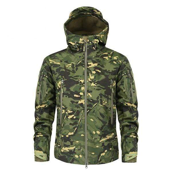 Survival Gears Depot Jackets CPOD / XS Military Camouflage Fleece Tactical Jacket