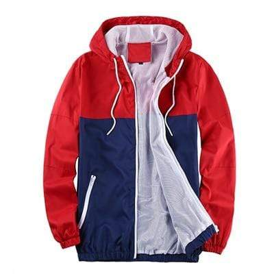 Navigator Store Jackets Red / M Camouflage Windbreaker Coat