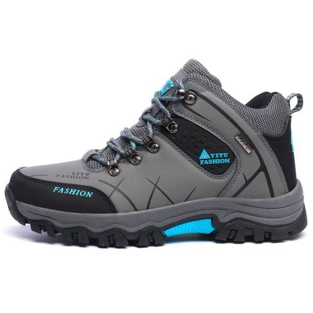 Shop5605475 Store Men's Casual Shoes Gray / 7 High Top Large Hiking Shoe