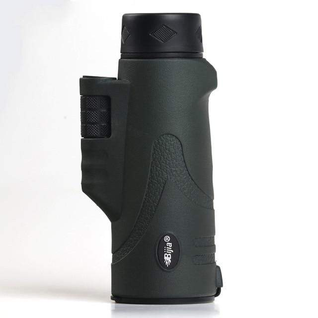 Survival Gears Depot Monocular/Binoculars Dark green 10x42 High Quality 4 Colors Multi coated BAK4 Dual Focus Prism Monocular