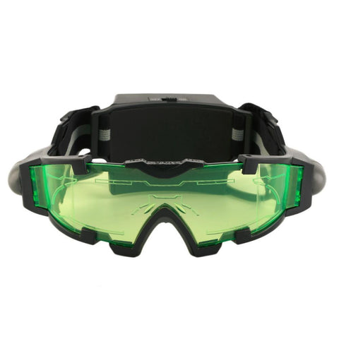 Survival Gears Depot Night Vision Goggles Adjustable Night Vision Goggles ( 25 Feet ) with Flip-out Lights Green Lens
