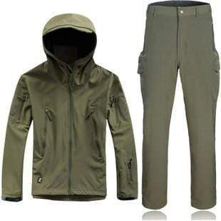 Survival Gears Depot Outdoor Waterproof Tactical/Hunting Jacket Plus Matching Pants