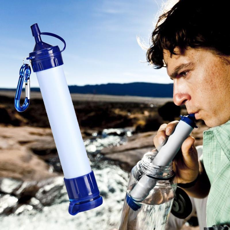 Survival Gears Depot Portable Outdoor Survival Water Life Straw