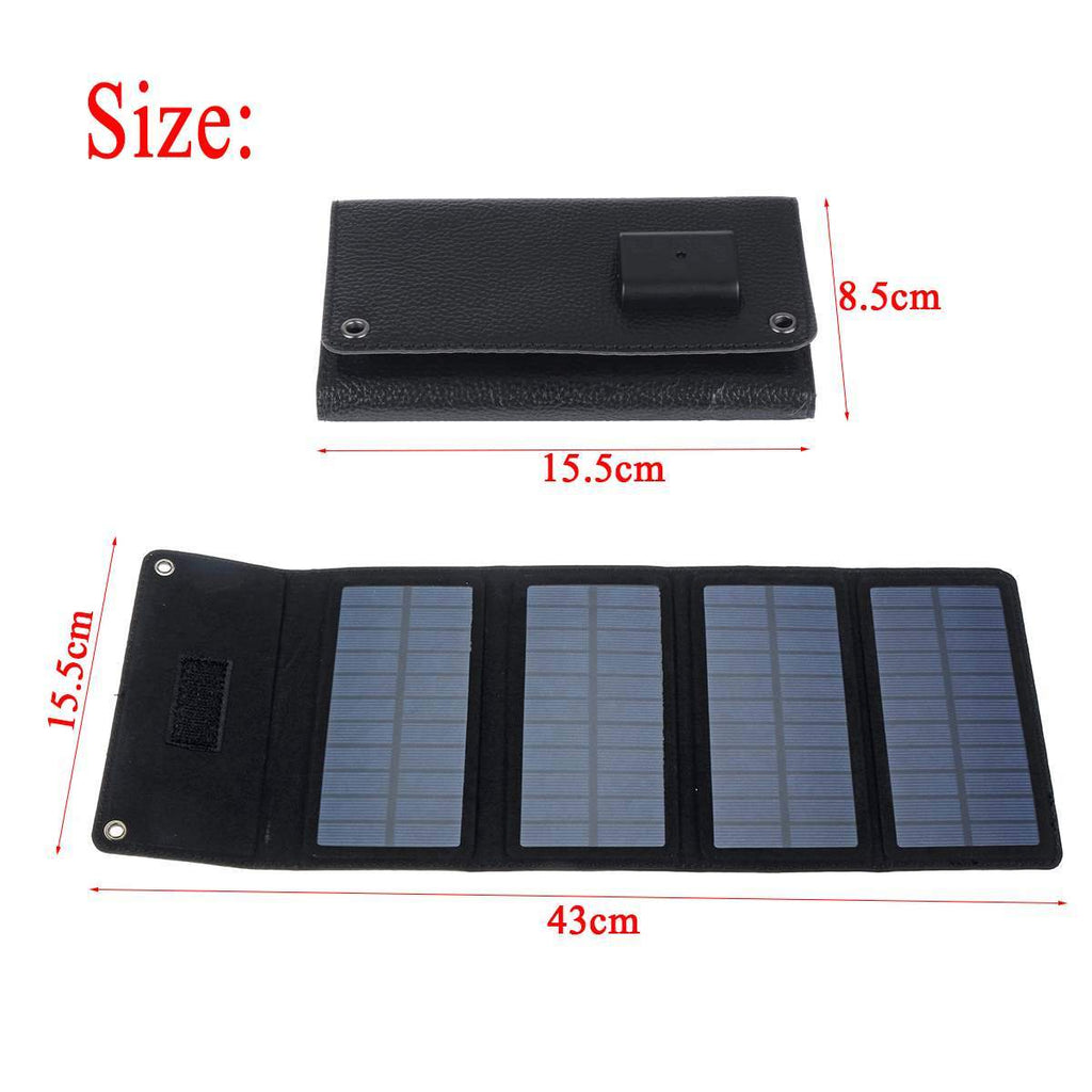 Survival Gears Depot Power Bank China 5V Folding Solar Cells Outdoor