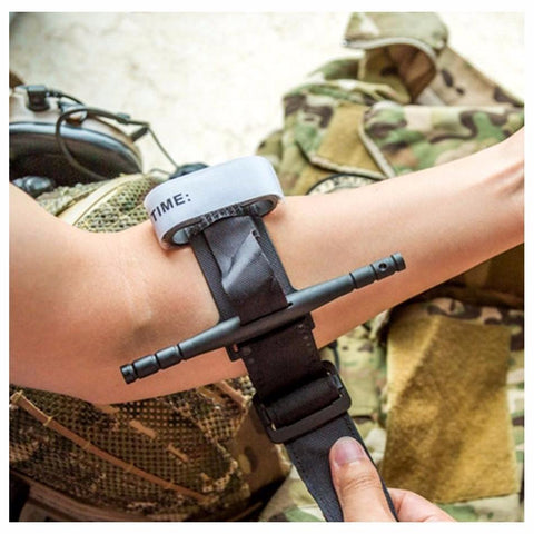 Survival Gears Depot Safety & Survival One-handed Spinning Combat Military Tactical Tourniquet/ Medical First Aid Emergency Tourniquet