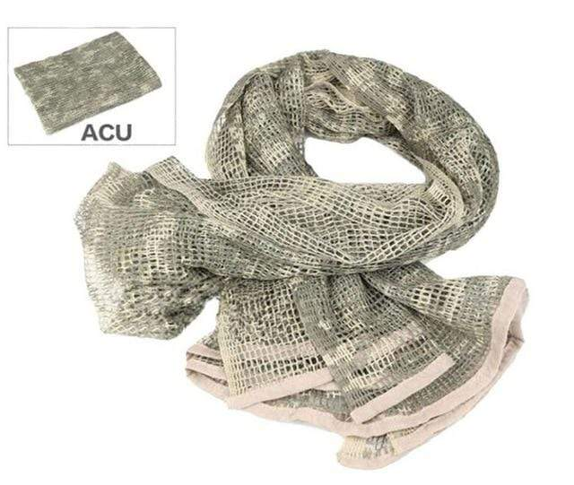 Survival Gears Depot Scarves ACU Military Tactical Mesh Scarf