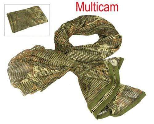 Survival Gears Depot Scarves MC Military Tactical Mesh Scarf