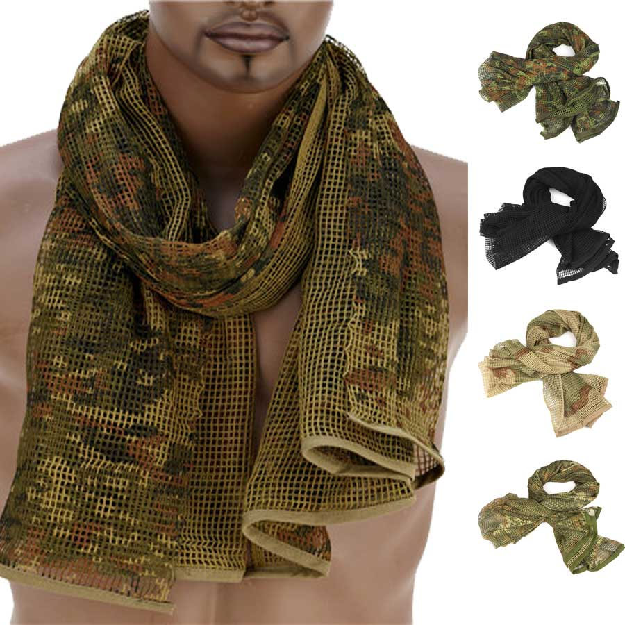 Survival Gears Depot Scarves Military Tactical Mesh Scarf
