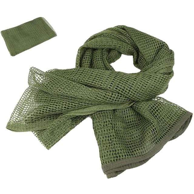 Survival Gears Depot Scarves OD Military Tactical Mesh Scarf