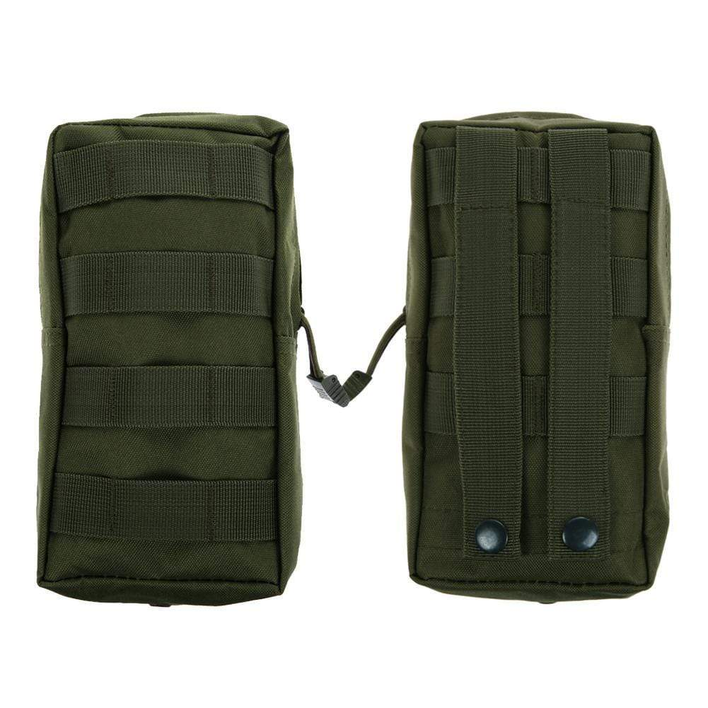 Survival Gears Depot Survival Backpack 1 Pack Molle Pouches - Tactical Compact Water-Resistant 600D EDC Pouch