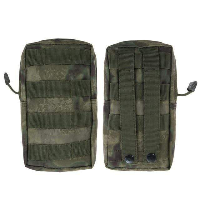 Survival Gears Depot Survival Backpack FG 1 Pack Molle Pouches - Tactical Compact Water-Resistant 600D EDC Pouch