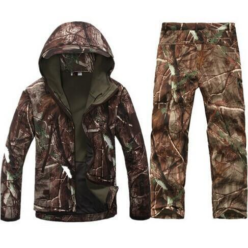 Survival Gears Depot The tree Camo / S Outdoor Waterproof Tactical/Hunting Jacket Plus Matching Pants