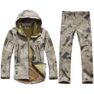 Survival Gears Depot Waste empty yellow / S Outdoor Waterproof Tactical/Hunting Jacket Plus Matching Pants