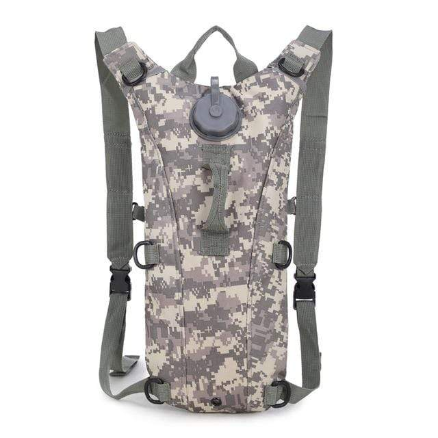 Survival Gears Depot Water Bags ACU camouflage 3L Molle Military Tactical Hydration Water Backpack