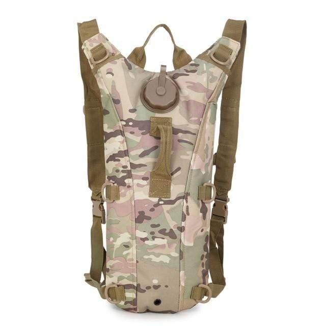 Survival Gears Depot Water Bags CP camouflage 3L Molle Military Tactical Hydration Water Backpack