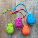 Silicone Owl Infuser - TheAkronHouseTeaCo.