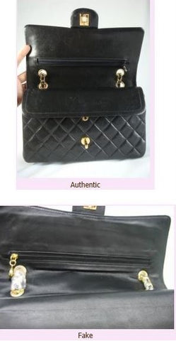 Spotting a fake Chanel blog at iBagzy designer bag rental Northern Ireland