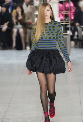 Molly Goddard eighties inspired fashion at LFW