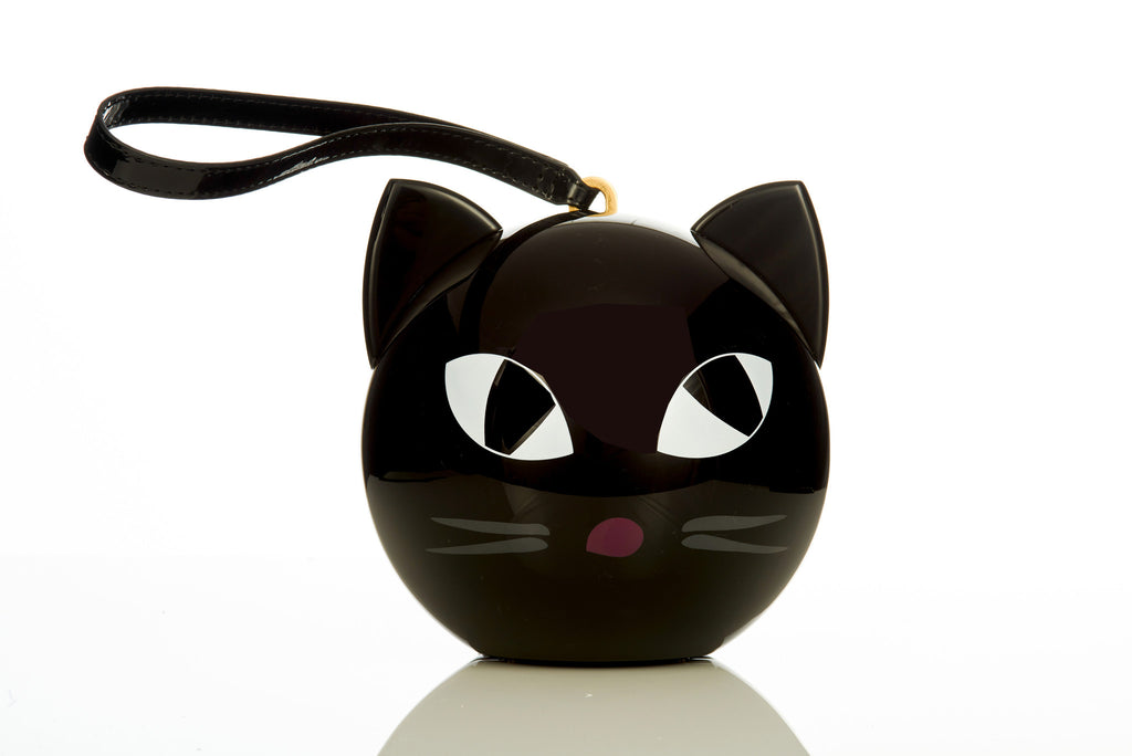 Lulu Guinness Kooky Cat Orb Clutch Ibagzy Bag Rental Northern Ireland