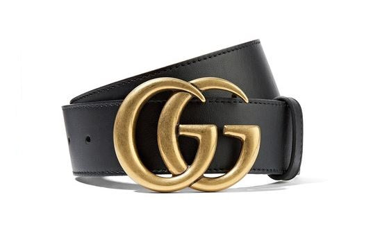 dddf45fe9 Gucci black leather belt with double G buckle to rent at iBagzy; 010-Black  Belt with GG Buckle - £25 p/wk ...