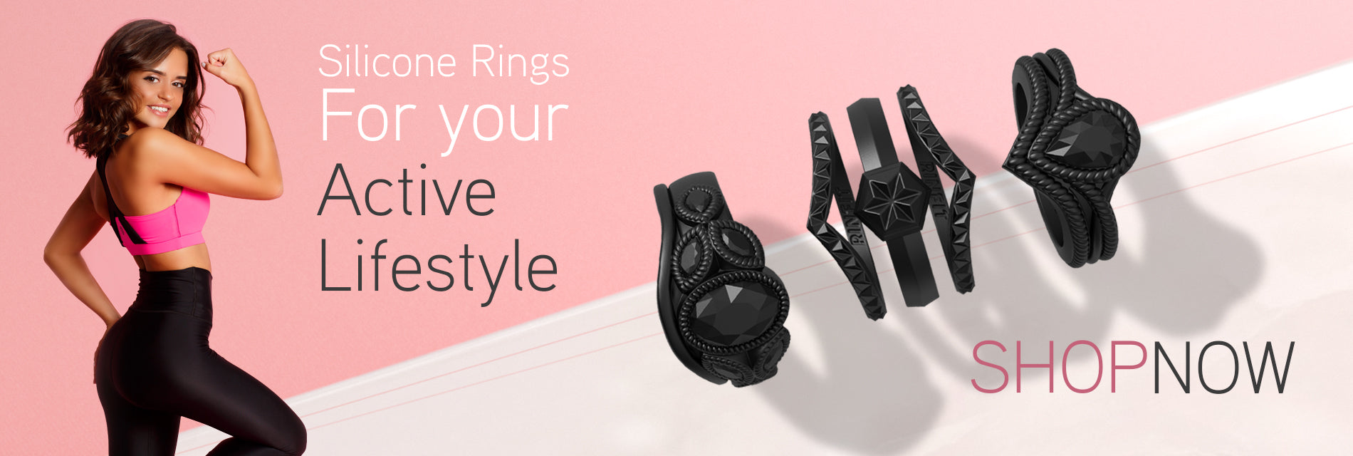 Silicone rings are here to stay!