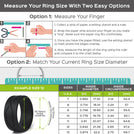 4Love Collection by Rinfit™ - Silicone Wedding Rings For Men- Designed, High-Quality Silicone, Soft Rubber Wedding Bands