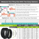 Wedding Bands Set for Men and Women- 2 Ring pack -  4love Collection