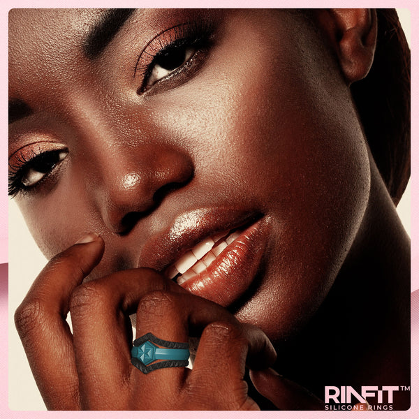 Silicone Wedding Rings for Women- 3 Rings Set - 4Love Collection