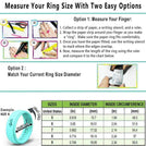Silicone Wedding Rings for Women- 3 Rings Set - Infinity Collection