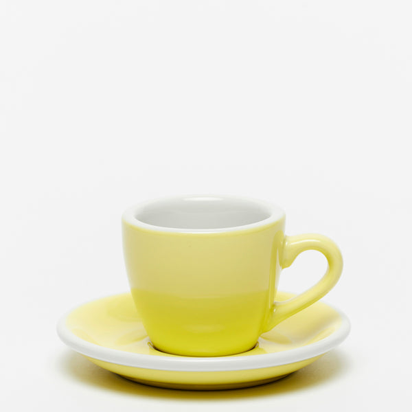ACME Yellow Espresso Cup & Saucer (70ml)